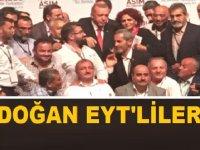 Cumhurbaşkanı Erdoğan, EYTSYDD Başkanı Gönül Boran Özüpak ile görüştü