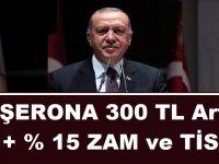 Türk-İş'in taşeron kamu işçileri için bakanlığa sunduğu teklif: 300 TL + % 15 ZAM ve TİS