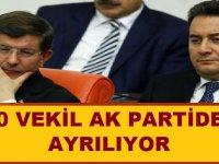 80 vekil AK Parti'den ayrılıyor iddiası