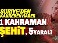 Suriye'den kahreden haber: Uzman Onbaşı Mikail Candan