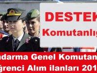 Jandarma ve Sahil Güvenlik Komutanlığı 220 erkek öğrenci alım ilanı