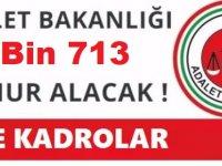 Adalet Bakanı: 12 bin 713 Devlet Memuru Gardiyan , İKM , Sosyolog , Şoför Alacağız