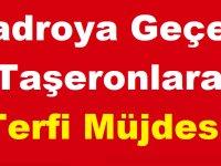 Kadroya Geçen Taşeronlara Terfi Müjdesi!