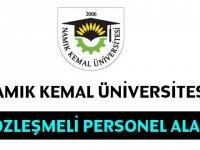 Namık Kemal Üniversitesi 92 Fizyoterapist , Büro Memuru,tekniker, ebe , Hemşire Alıyor