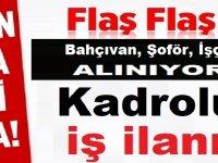 Afyonkarahisar Belediyesi 40 Belediye işçi Alıyor