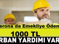 Emeklilere Ödenen 1000 TL Kurban Bayramı Parası Taşerona da Ödenecek mi?