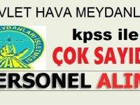 Devlet Hava Meydanları KPSS İle 83 Arff Memuru (İtfaiyeci) Alımı