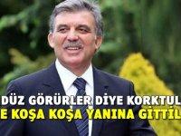 Abdullah Gül Kayseri'de Gece Yarısı Otelde Kimlerle Görüştü