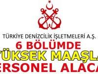 Türkiye Deniz İşletmeleri Genel Müdürlüğü Harita Mühendisi ,Makine Mühendisi ve İnşaat Mühendisi alıyor