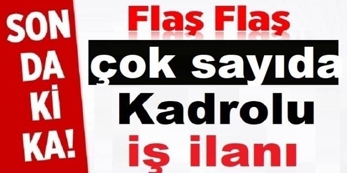 Kırklareli Vize Belediyesi Kadrolu şoför ve İşçi Alıyor