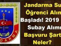 Jandarma subay öğrenci alımı başladı! 2019 JGK subay alımı başvuru şartları neler?