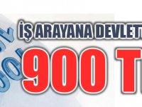 İş arayana Devletten 900 lira destek verilecek