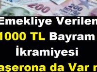 Emekliye Verilen 1000 TL Bayram İkramiyesi Taşerona da Var mı?