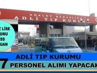 Adli Tıp Kurumu (ATK) 70 KPSS ile 57 Devlet Memuru Alımı yapıyor