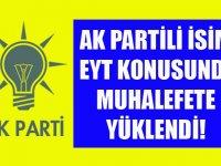 Ak Partili EYT konusunda CHP'ye Yüklendi