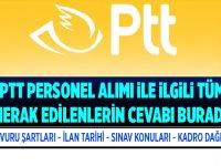 PTT 2019/1 Beş Bin Personel Alımı Başvuruları Nasıl Yapılır - PTT 2019 2020 İş Başvurusu Nasıl Yapılır?