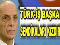 Sendika Başkanı Türk iş Sendika başkanını istifaya çağırdı