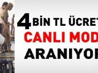 Kayseri Erciyes Güzel Sanatlar Fakültesine 4 Bin TL Maaşla Canlı Model Alınıyor