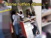 Çocuğunun gözleri önünde vahşice öldürülen #EmineBulut'un son görüntüsü ortaya çıktı