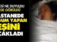 Hastanede yeni doğum yapmış eşini 7 yerinden bıçakladı