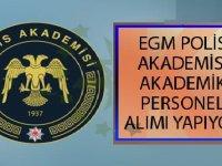 EGM Polis Akademisi Adli Bilimler Enstitüsüne Akademik Personel Alımı