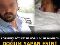 Gaziantep'te gözü dönmüş adam, ayrı yaşadığı eşini doğum yaptıktan sonra hasta yatağında bıçaklayarak ağır yaraladı
