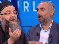 Canlı yayında Cübbeli Ahmet ile İsmail Saymaz arasında gerginlik! -