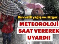 Meterolojiden sağanak yağış uyarısı!