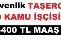 PTT Taşeron Özel Güvenlikleri Maaşları 5 Bin 400 TL oldu!