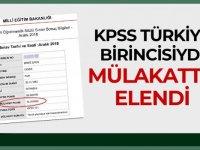 KPSS Türkiye Birincisi 4 Ayrı Kurumda Mülakatta Elendi!