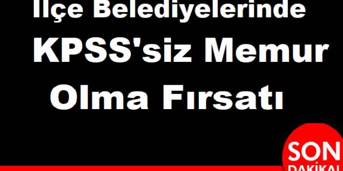 Arslantepe Belediyesi Öğretmen , işçi , Mühendis ve Kameraman Alıyor
