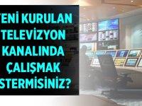 Televizyon kanalında çalışmak ister misiniz ?