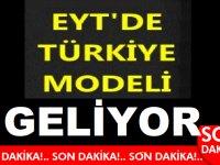 EYT'de Çözüm için Türkiye Modeli Geliyor