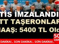 PTT Taşeronları TİS Sona Erdi! Maaşlar 5400 TL Oldu