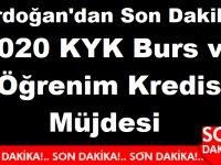 Erdoğan'dan Son Dakika 2020 KYK Burs ve Öğrenim Kredisi Müjdesi