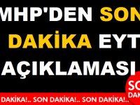 MHP'DEN SON DAKİKA EYT AÇIKLAMASI