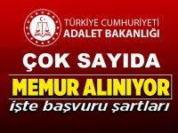 Adalet Bakanlığı Mühendis Devlet Memuru Alım ilanı