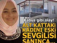 Balkonuna çıkan kadını neden tüfekle vurarak yaraladığı çok geçmeden ortaya çıktı