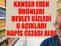 Trakya'da Akdeniz'de Kanser eden ürünleri açıklayan bilim insanı Bülent Şık'a hapis cezası