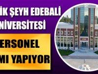 Bilecik Şeyh Edebali Üniversitesi İŞKUR üzerinden 40 kamu personeli alımı