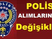 Polis olma şartları değişiyor - Polis Olma şartları 2020