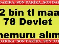 Adalet Bakanlığı 78 Devlet Memuru Alıyor Maaş 12 Bin TL