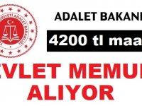Adalet Bakanlığı Tercüman Devlet Memuru Alım ilanı