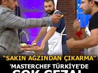 MasterChef'te jüri üyesi şef Mehmet Yalçınkaya'dan Yasin'e görülmemiş ceza!