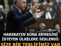 Erdoğan: 'Barış Pınarı Harekatı'nın sona ermesi için tek şartımız var