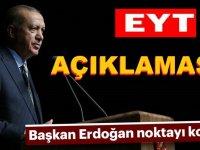 Cumhurbaşkanı Erdoğan Eyt Hakkında 10 dakika açıklama yaptı!
