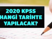 ÖSYM 2020 KPSS hangi tarihte?