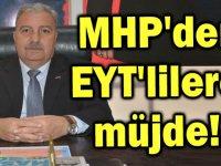 MHP'den Eytlilere Müjde
