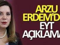 MHP milletvekili Arzu Erdemden flaş Eyt Açıklaması