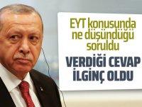 Erdoğan'dan EYT sorusuna net cevap
